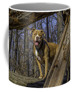 Remy In Tree Oil Paint More Pop Coffee Mug