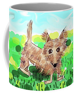 Remy, Laird Of The Cairn Coffee Mug