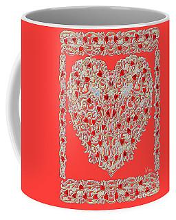 Renaissance Style Heart Coffee Mug