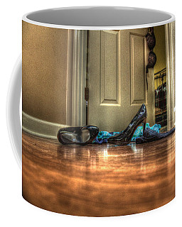 Rendezvous Do Not Disturb 05 Coffee Mug by Andy Lawless