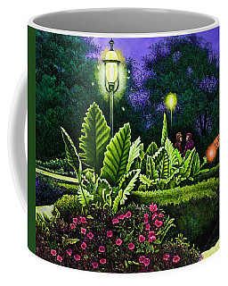 Rendezvous In The Park Coffee Mug by Michael Frank