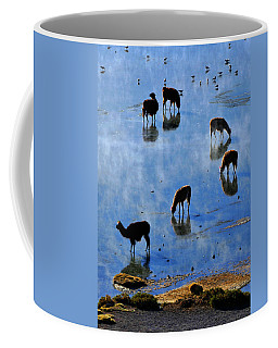 Coffee Mug featuring the photograph Rendezvous by Skip Hunt
