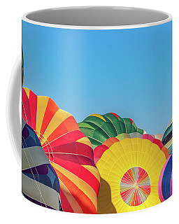 Coffee Mug featuring the photograph Reno Balloon Races by Bill Gallagher