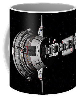 Repairs In Space Coffee Mug