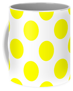 Coffee Mug featuring the digital art Repeating Circle Pattern - Custom Colors by Mark E Tisdale