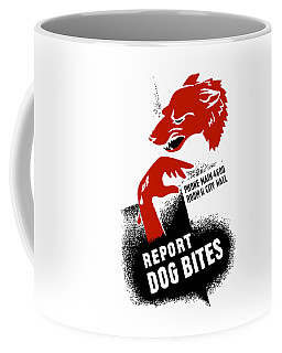 Report Dog Bites - Wpa Coffee Mug