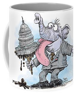 Republicans Lick Congress Coffee Mug