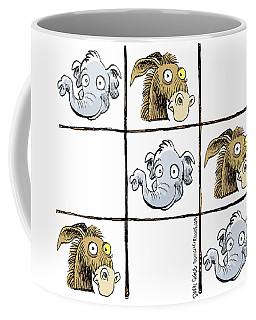 Republicans Win Tic Tac Toe Coffee Mug