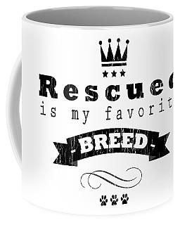 Rescued Crown Dark Coffee Mug