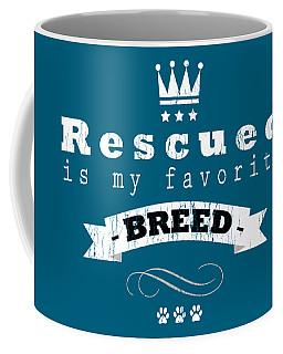 Rescued Crown Light Coffee Mug