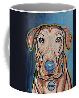 Rescued Coffee Mug by Victoria Lakes