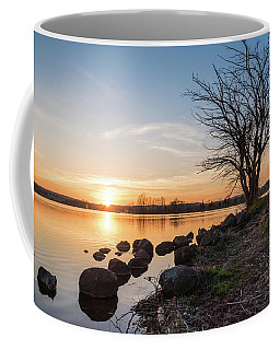 Reservoir Sunset Coffee Mug