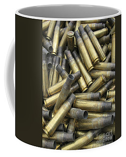 Residual Ammunition Casing Materials Coffee Mug