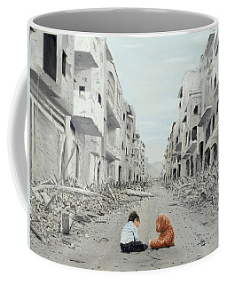 Coffee Mug featuring the painting Resilience by Kevin Daly