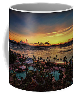 Resort Sunset Coffee Mug