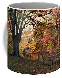 Coffee Mug featuring the photograph Respite River by Jessica Jenney