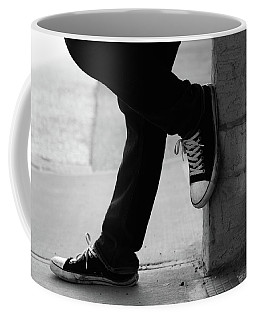 Coffee Mug featuring the photograph Rest Then Tackle  by Empty Wall