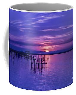 Rest Well World Purple Sunset Coffee Mug