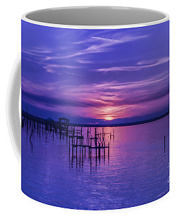 Rest Well World Purple Sunset Coffee Mug