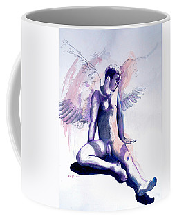 Resting Angel Coffee Mug