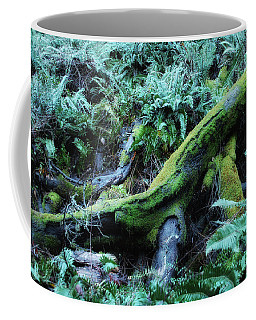 Resting Comfortably Coffee Mug by Donna Blackhall