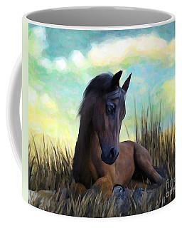 Resting Foal Coffee Mug