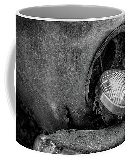 Resting Headlight Of Rusty Car Coffee Mug