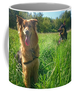 Resting Coffee Mug by Isabella F Abbie Shores FRSA