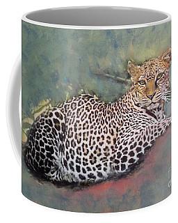 Resting Leopard Coffee Mug