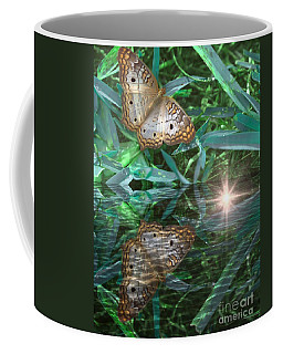 Resting On River's Edge Coffee Mug by Lilliana Mendez