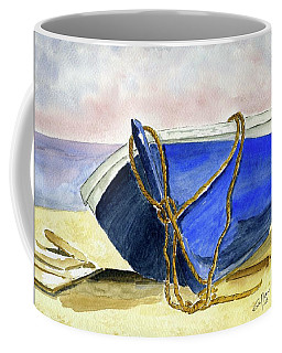 Resting On The Beach Coffee Mug