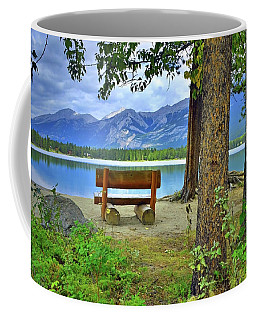 Coffee Mug featuring the photograph Resting Place At Lake Annette by Tara Turner