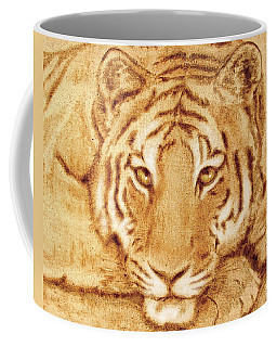 Resting Tiger Coffee Mug