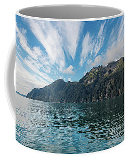 Resurrection Bay, Kenai Fjords National Park In Alaska Coffee Mug by Brenda Jacobs