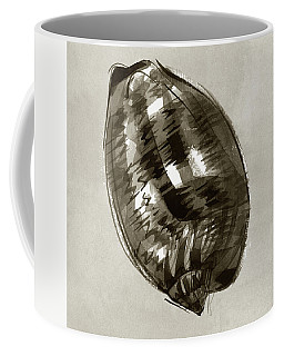 Coffee Mug featuring the painting Reticulated Cowrie by Judith Kunzle
