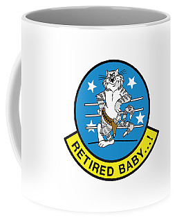 Retired Baby - Tomcat Coffee Mug