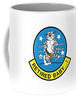 Retired Baby - Tomcat Coffee Mug