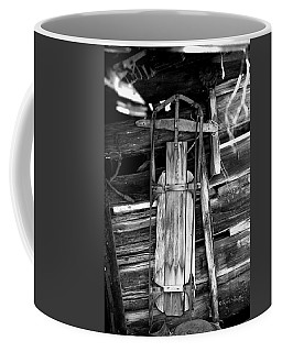 Retired Snow Sled Coffee Mug