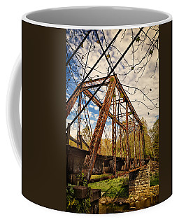 Retired Trestle Coffee Mug by John M Bailey