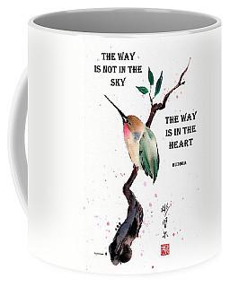 Retreat With Buddha Quote Coffee Mug