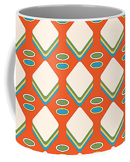 Retro 1950's Pattern Coffee Mug