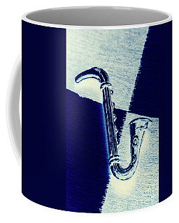 Retro Blues Coffee Mug