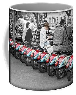 Retro Break At Camden Lock Coffee Mug