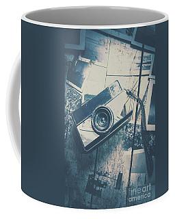 Retro Camera And Instant Photos Coffee Mug