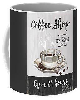 Retro Coffee Shop 1 Coffee Mug