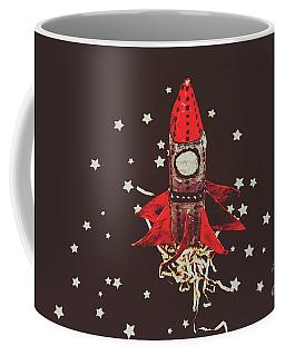 Retro Cosmic Adventure Coffee Mug