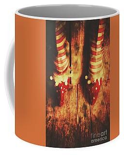Retro Elf Toes Coffee Mug