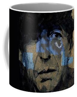 Retro- Famous Blue Raincoat  Coffee Mug