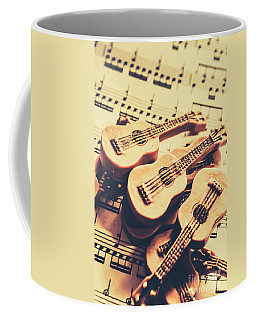 Retro Folk And Blues Coffee Mug