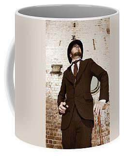 Coffee Mug featuring the photograph Retro Nobel Man by Jorgo Photography - Wall Art Gallery